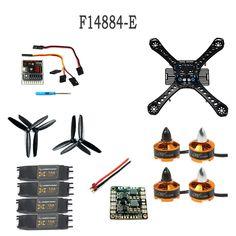 69.12$  Watch here - http://alih6i.worldwells.pw/go.php?t=32721288298 - F14884-E DIY RC Drone Quadrocopter X4M250L Frame Kit QQ Super Motor ESC Props