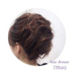 hair style by ITSUKI. hairstyle,wedding hair,bridal hair,kimono,着物ヘア・ヘアセット・ロングヘア・ミディアムヘア・ボブヘア