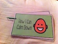 This Calm Down Kit-Great for kids on the Autism Spectrum. It contains PECs and social stories as a way to help kids manage emotions. Geared toward school setting but can be modified for hospital. Self Regulation Strategies, Emotional Regulation, Classroom Behavior, Autism Classroom, Coping Skills, Social Skills, Life Skills, Calm Down Kit, School Social Work