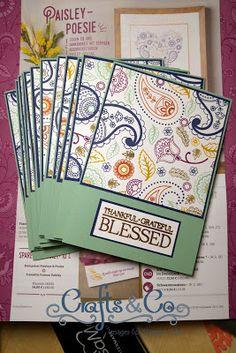 Crafts & Co.: Paisley Poesie zum neuen Saisonkatalog