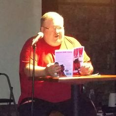 Introducing the crowd to Abraham Snow's first adventure, Snow Falls at Books and Beer at Jackalope Jacks in Charlotte, NC. Published by BEN Books. #supportindieauthors