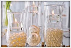 Decorations, Beach Centerpieces Ideas: Best Beach Wedding Centerpieces Ideas