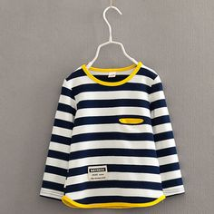 d38ecb69f218f V TREE Spring autumn long sleeve t shirt for girls stripe boys shirts  children tops children s sweatshirts baby clothing tees-in T-Shirts from  Mother   Kids ...