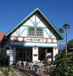 Hemet, CA (California) - Hemet: Old Santa Fe Depot