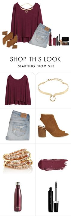 """""""Comment your favorite brand!!!!"""" by amaya-leigh ❤ liked on Polyvore featuring H&M, Alexis Bittar, Abercrombie & Fitch, Office, SPINELLI KILCOLLIN, S'well and Marc Jacobs"""