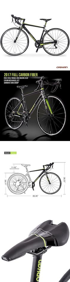 Bicycles 177831: 700C Road Bike 18 Speed Full Carbon Fiber Frame Racing Bicycle Shimano Cycling -> BUY IT NOW ONLY: $599.9 on eBay!