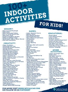 Parents, we've created an Indoor Activity Guide for Kids that has over 100 fun activities children can do at home that don't involve using a screen! Check them out 😎  Link to Download the Guide: www.mycalcas.com/printables  #AtHomeTeachingResources #TogetherWeCAN