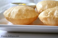 I LOVED this in India. Now to try making it. {How to make Indian Poori | Puri Recipe (step by step)}