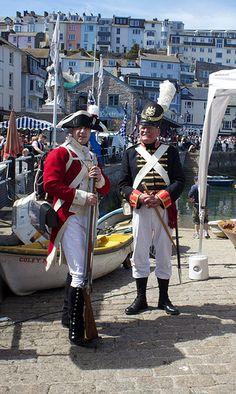 Brixham, Devon, UK - Pirate Festival