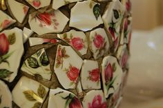 tutorial: china mosaic flower pot