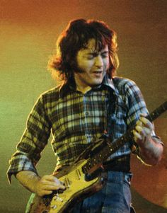 Rory Gallagher Live. with That Guitar and That Shirt