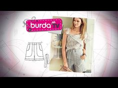 Burda na TV 124   Vida com Arte   Bermuda - YouTube