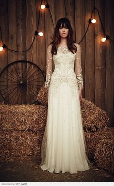 The beautiful 2017 bridal collection from Jenny Packham na Stylowi.pl