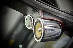 Car Audio Installations: Art Of 3Way Systems By Cartens Autosound Jakarta www.cartens-audio.com Custom Car Audio, Custom Cars, Interior Accessories, Car Accessories, Car Audio Installation, Custom Car Interior, Car Sounds, Diy Car, Back Seat