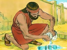 FreeBibleimages :: God raises up Gideon :: Gideon asks for a sign that God will help him fight the Midianites (Judges Emoji Coloring Pages, Tree Coloring Page, Adult Coloring Pages, Free Coloring, Free Stories, Bible Stories, Thanksgiving Coloring Sheets, Color By Number Printable, Beige Color Palette