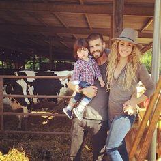 Shakira & Gerard  Piqué's Countryside Cutie
