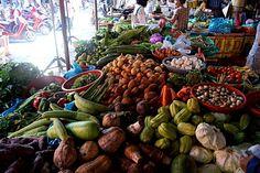 Die Märkte in Vietnam beeindrucken durch ihre Vielfalt und Frische. #Vietnam #Markt #erlebeFernreisen