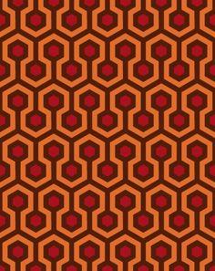 Overlook Hotel (The Shining) Carpet Pattern