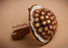 "60's birthday is fun and elegant at the same time. This is exactly what my Ferrero Rocher hand made bouquet combine! sweet bouquet includes 60 pcs ""FERRERO ROCHER"" chocolates Pric…"