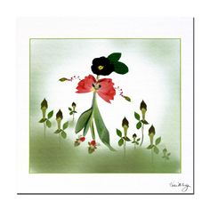 Happy Fairy Kathie McCurdy by Kathie McCurdy Painting Print on Wrapped Canvas