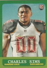 2014 Topps 1963 Mini #241 Charles Sims, Tampa Bay Buccaneers