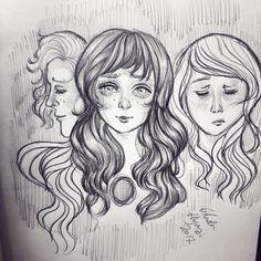 """62 Likes, 1 Comments - Ghada A.Hijazi (@ghada.hijazi.art) on Instagram: """"#sketching #sketch #drawings #doodle #doodling #artwork #sketchbook #pencil #pencildrawing…"""""""