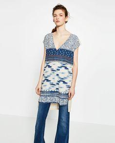 TRIBAL PRINT TUNIC-View All-DRESSES-WOMAN | ZARA United States