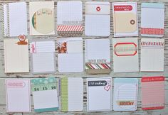 Mish Mash: Project December......3 x 4 Journal Cards?..more awesome stuff.