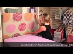 How to hang a headboard in your dorm room