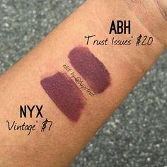 """7,250 Likes, 403 Comments - DUPETHAT (@dupethat) on Instagram: """"Thank you to all who have shared this dupe with us! These swatches were shared by @ricajianne. Now…"""""""