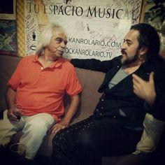 """@Rockanrolario's photo: """"Guillermo Briseño y Salvador Moreno en Rockanrolario."""""""