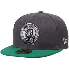 Men s Boston Celtics New Era Heathered Gray Green Shader Melt 2 59FIFTY Hat  Bonés 19d1dbc5d95