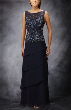 This is a hot sell #dress from our #motherofthebridedresses category. Bateau Beading Chiffon Sleeveless Mother's Dresses   style code:01830 $144  You can get it here: http://www.outerinner.com/bateau-beading-chiffon-sleeveless-mother-s-dresses-pd-01830-18.html  #wedding #outerinner