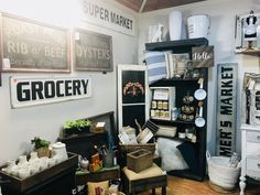 Gradually the little shop is being transformed. Can't wait for our new wood and metal buffets and goodies for the Timeless Home. Oregon City, Beef Ribs, New Shop, Buffets, Wood And Metal, Goodies, Workshop, Canning