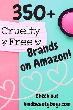 There are so many cruelty-free and vegan brands available on Amazon in makeup, skincare, haircare, sun care, baby care and more! Check out my full list in the link! Cruelty Free Shop, Sun Care, Baby Care, Neon Signs, Vegan, Amazon, Link, Makeup, Check