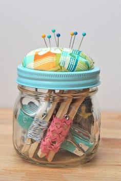 DIY Beginner Sewing Kit Gift Idea-TUTORIAL