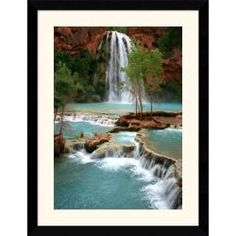 @Overstock - Artist: Andy MageeTitle: Havasu ParadiseProduct type: Framed print arthttp://www.overstock.com/Home-Garden/Andy-Magee-Havasu-Paradise-Framed-Print-Art/5919583/product.html?CID=214117 $205.99