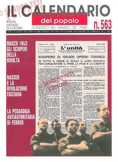 Il Calendario del Popolo n° 563, 1993