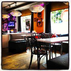 Sport Bar Funky Burger. Interior Design: Apricus.