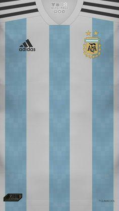 Argentina home jersey Football Is Life, World Football, Football Kits, Football Jerseys, Manchester City Wallpaper, Argentina Football, Copa America Centenario, Leonel Messi, Football Design