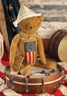 cody foster christmas decorations | Yankee Doodle Dandy Bear