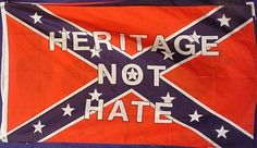 No, The Confederate Flag DOES NOT Stand for Racism or Slavery. It's the Virginia battle flag. Learn some real history!