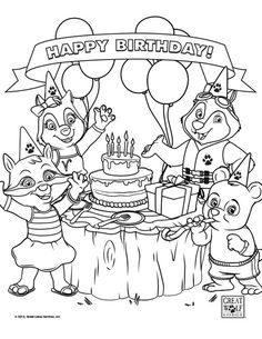 Coloring sheets for Great Wolf Lodge-themed birthday parties. | Activities | Kids Entertainment | Great Wolf Kids