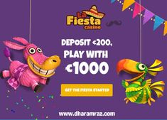 Open the virtual doors at La Fiesta Casino, where the journey knows no limits and lady luck is the guest of honor.  Register Now https://bit.ly/2rpIBEF #LaFiestaCasino #onlinecasinobonus #onlinecasino #poker #roulette #blackjack #slots #bingo #spins #Dharamraz