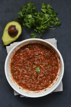 Smokey Salsa: oven roast your tomatoes, onions, and jalapeños to add a smokey taste to your salsa.