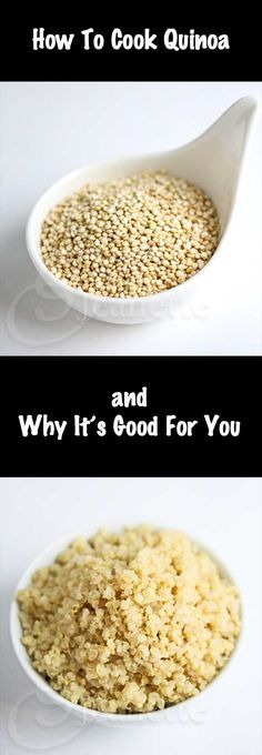 How To Cook Quinoa - If you've never tried quinoa, now's the time. Check out my How To Cook Quinoa video – quinoa is so easy to prepare and highly nutritious. Quinoa is considered to be a complete protein, meaning it provides the adequate proportion of all nine of the essential amino acids for our diet. It's also naturally gluten-free. - If you like this pin, repin it and follow our boards :-) #FastSimpleFitness - www.facebook.com/FastSimpleFitness