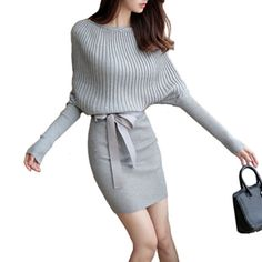 Batwing Sweater Bodycon Dress   FREE Shipping Worldwide   Get it here ---> https://ihavenothingtowear.shop/batwing-sweater-bodycon-dress/  #womensapparel #onlineshopping #ihavenothingtowear