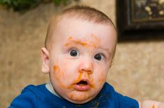 First solid food | 29 Photos Every Parent Must Get Of Their Baby