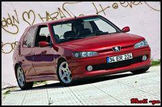 Peugeot 306 GTI-6 1997 Diablo Red - so much fun!