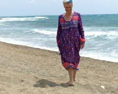 Túnica, vestido, comodidad canas, kilos y estilo. Moda mayores de 50